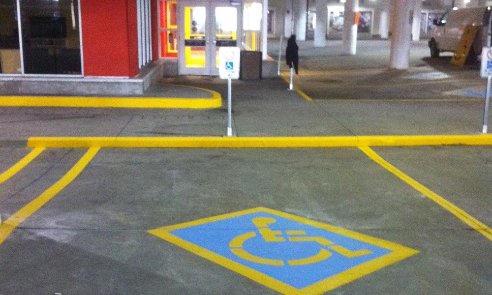 Safety Line Markings at Brama Industries